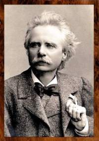Portrait of Edvard Grieg