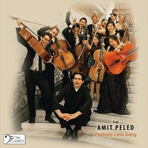 Amit Peled: The Peabody Cello Gang = Works by SCHUBERT; POPPER; HANDEL – Amit Peled, cello/ The Peabody Cello Gang/ Andrea Casarrubios, cello/ Eli Kalman and Hui-Chuan Chen, pianos – CTM