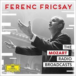 Ferenc Fricsay Conducts Mozart Album Cover