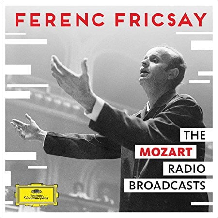 Ferenc Fricsay: The Mozart Radio Broadcasts = MOZART: Symphonies; Bassoon Concerto; Divertimenti, Serenades and Arias – Suzanne Danco and Rita Streich, sopranos / Johannes Zuther, bassoon/ RIAS-Symphonie-Orchester Berlin/ Ferenc Fricsay – DGG
