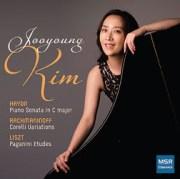Jooyoung Kim, Hadyn/Liszt Album Cover