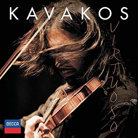 Kavakos: Virtuoso = Works for Violin and Piano by STRAVINSKY; SARASATE; TARREGA; FALLA; PAGANINI; WIENIAWSKI; R. STRAUSS; DOHNANYI; ELGAR; TCHAIKOVSKY; DVORAK – Leonidas Kavakos, violin/ Enrico Pace, piano – Decca