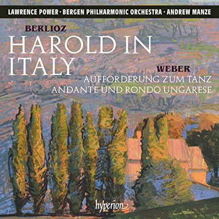 BERLIOZ: Harold in Italy – Lawrence Power, viola/ Bergen Philharmonic Orchestra/ Andrew Manze – Hyperion