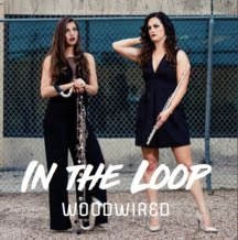 "WoodWired Duo: ""In the Loop"" = Works for Flute and Bass Clarinet, by Hannah Leffler and Cheyenne Cruz"