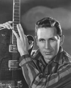Portrait of Chet Atkins, From Gretsch Guitar News