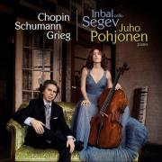 Ibal Segev playing Cello Sonatas by Chopin, Greig, Schumann