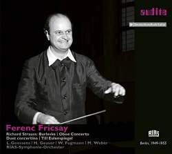 Ferenc Fricsay Conducts Strauss,Album Cover