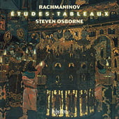 Steven Osborne plays Rachmaninov Etudes, Album Cover