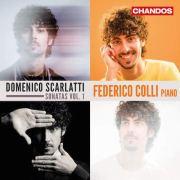 Scarlatti Sonatas, Performed by Colli, Album Cover