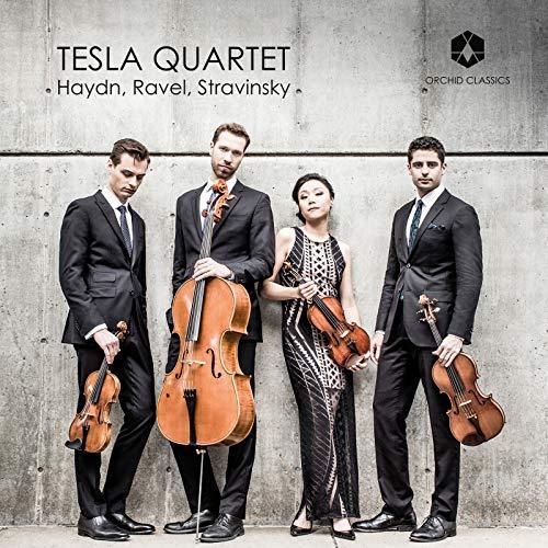 Tesla Quartet – RAVEL: String Quartet; HAYDN: String Quartet Op. 54; STRAVINSKY: Concertino for String Quartet – Orchid Classics