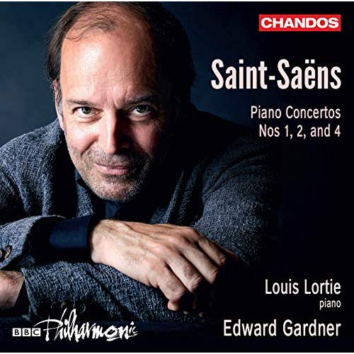 SAINT-SAËNS: Piano Concertos – Louis Lortie/ BBC Philharmonic/ Edward Gardner – Chandos