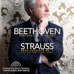 FRESH! Beethoven & Strauss, Album Cover