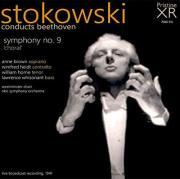 Leopold Stokowski, Beethoven, Symphony No. 9, Album Cover