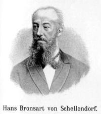 Portrait of Hans Bronsart von Schellendorff