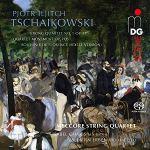 TCHAIKOVSKY: String Quartet No. 1, Sextet - Meccore String Quartet - SACD MDG