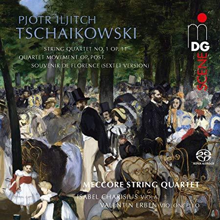 TCHAIKOVSKY: String Quartet No. 1, Sextet – Meccore String Quartet – SACD MDG