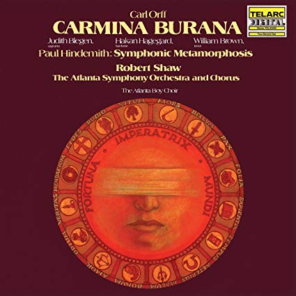 Carl Orff/Carmina Burana – Paul Hindemith: Symphonic Metamorphosis – Telarc Records/Concord Music Group