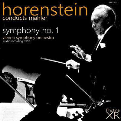 Jascha Horenstein: MAHLER: Symphony No. 1 – Vienna Symphony Orchestra – Pristine Audio