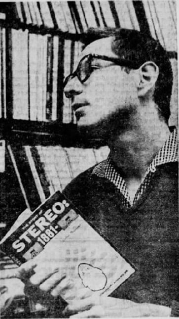 "Daily Independent Journal, San Rafael, California, 6/3/1961: ""The Story of Stereo"" with John Sunier"