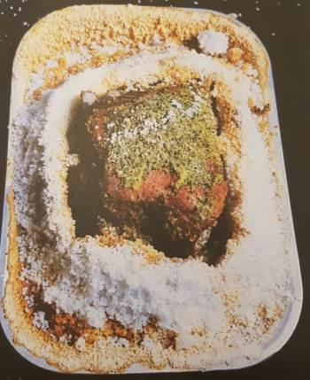 Carré de cochon au gingembre en croûte de sel (6 personnes)