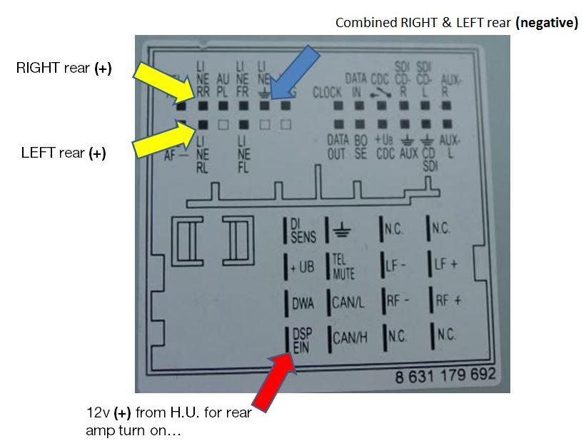 6 Channel Amp Wiring Diagram