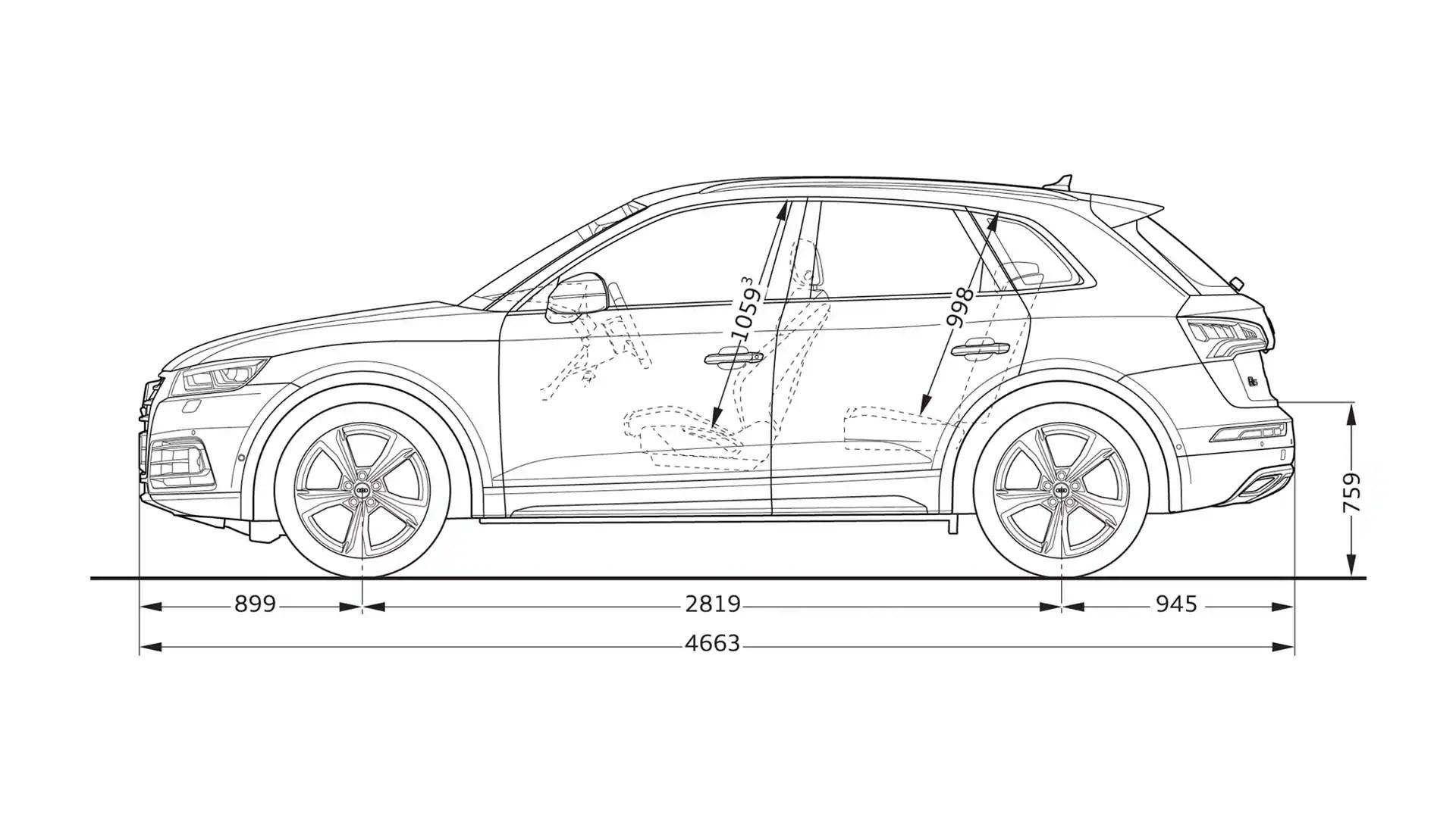 Layer Dimension Gt Q5 Gt Q5 Gt Audi Deutschland
