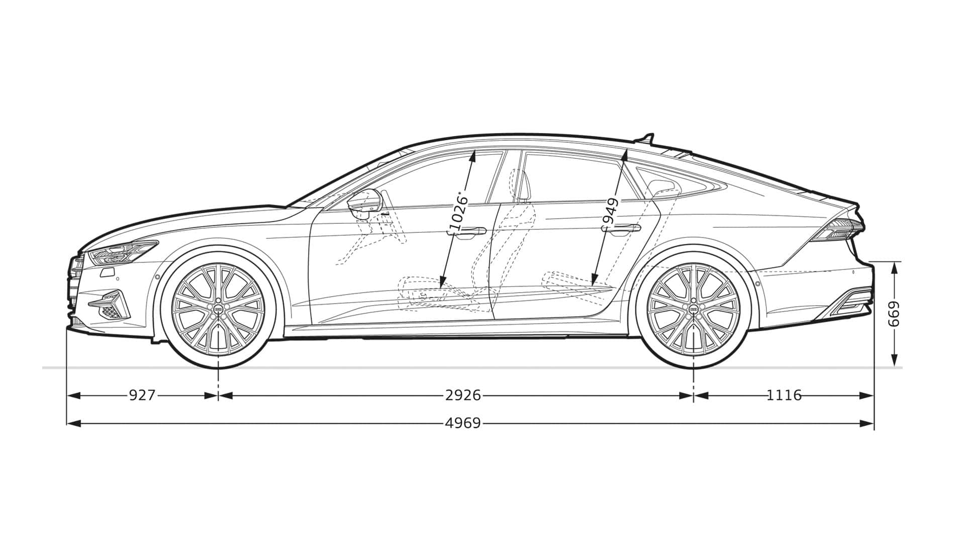 Layer Dimension Gt The New A7 Sportback Gt A7 Gt Audi Ireland