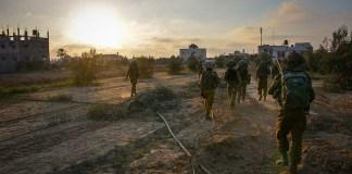 IDF-Soldaten in Gaza. Foto Israel Defense Forces