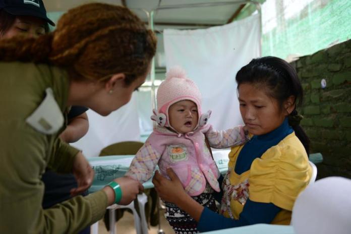 Im Einsatz in Kathmandu. Foto Gadi Yampel / IDF