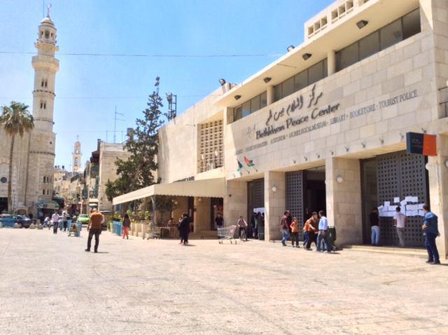Das Bethlehem Peace Center. Foto Kay Wilson