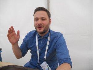 Dr. Oren Osterer, Organisationschef der European Maccabi Games. Foto Sabrina Goldemann