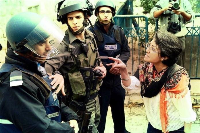 Hanin Zoabi. Foto Twitter / Middleeast Monitor