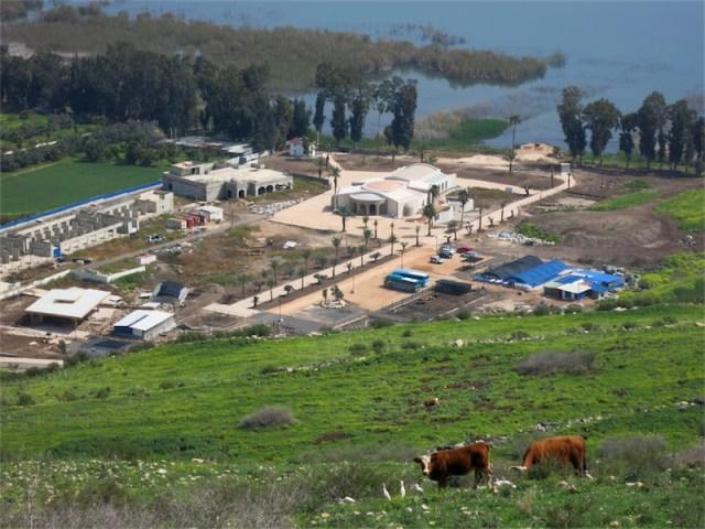 Die Ausgrabungsstätte bei Migdal. Foto zVg