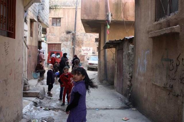 Das Flüchtlingslager Wavel in der Nähe von Baalbek im Libanon, verwaltet von UNRWA. Foto Europäische Kommission GD ECHO