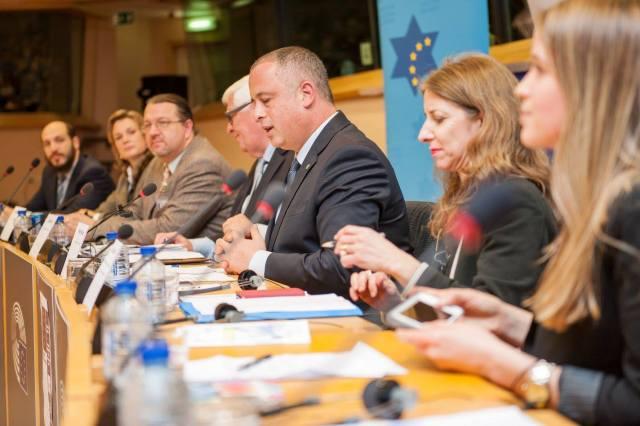 Der stellvertretende Sprecher der Knesset, Yehiel Hilik Bar. Foto European Coalition for Israel