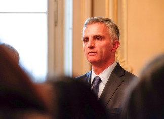 Bundesrat Didier Burkhalter. Foto Stefan Rüegger/SAJV. (CC BY-ND 2.0) https://www.flickr.com/photos/sajv_csaj/15371533673