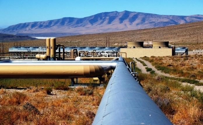 Ein Geothermie-Park von Ormat Technologies. Foto zVg