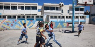 UNRWA Schule. Foto Flickr/Stars Foundation NABAA- 2012 Protection Award. https://www.flickr.com/photos/starsfdn/8405459908/ (CC BY-NC-ND 2.0)