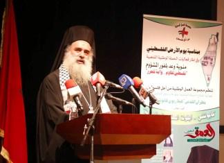 Bischof Atallah Hanna von der griechisch-orthodoxen Kirche. Foto al3omk