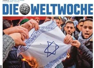 Foto Screenshot Weltwoche Cover