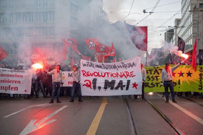 1. Mai Kundgebung der RJZ.