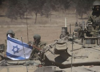 Israelische Verteidigungskräfte im Süden Israels, entlang der Grenze zu Gaza. Foto - Albert Sadikov/Flash90