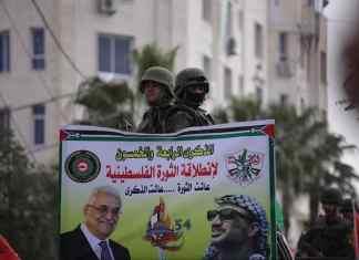 Fatah Kundgebung im Januar 2019. Foto Facebook / Fatah