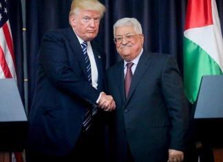 Trump war nach ihrem Treffen in Bethlehem am 23. Mai 2017 nicht glücklich über Abbas. Foto Flash90.