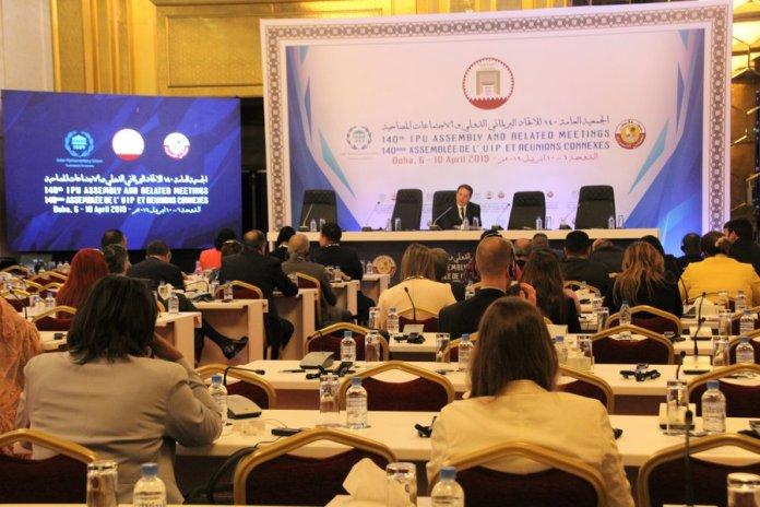 Treffen der Sozialistischen Internationale auf der 140. Versammlung der Interparlamentarischen Union. Foto Socialistinternational.org