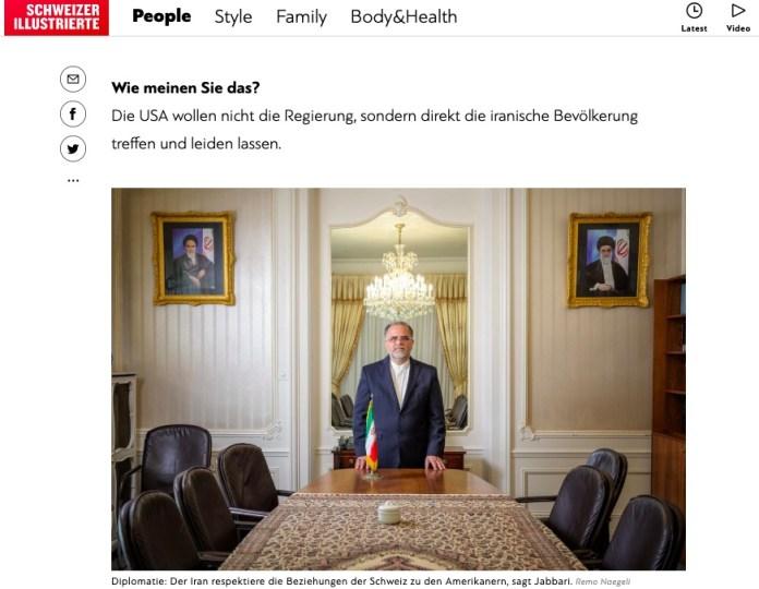 Foto Screenshot schweizer-illustrierte.ch