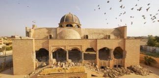 Die zerstörte syrisch-orthodoxe Kirche St. Ephraim in Mossul. Foto Jaco Klamer/Aid to the Church in Need