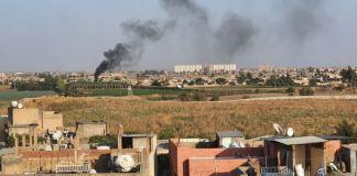 Türkei-Offensive in Syrien bei Nusaybin'den. Foto Mahmut Bozarslan, Public Domain, https://commons.wikimedia.org/w/index.php?curid=83018783