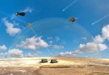 Veranschaulichung des Laserabwehrsystems. Foto MoD