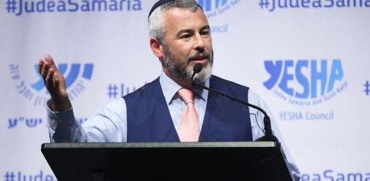 Yishai Fleisher ist der internationale Sprecher der jüdischen Gemeinde von Hebron und ein Rundfunksprecher mit einem wöchentlichen Podcast auf The Land of Israel Network. Foto Yossi May Photo, CC BY-SA 4.0, https://commons.wikimedia.org/w/index.php?curid=84553202
